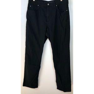 Duluth Trading Flex Fire Hose Fit Black Jeans 38